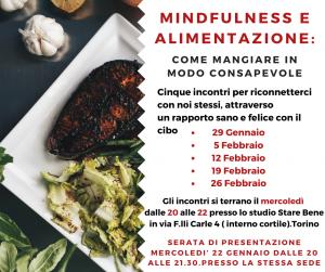 mindfulnees e alimentazione torino