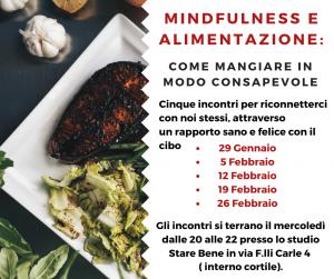 mindfulnees e alimentazione