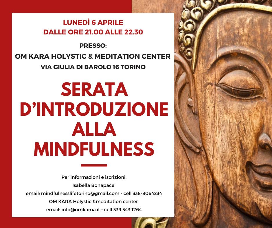 serata introduzione mindfulness