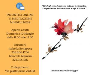 incontro online di meditazione