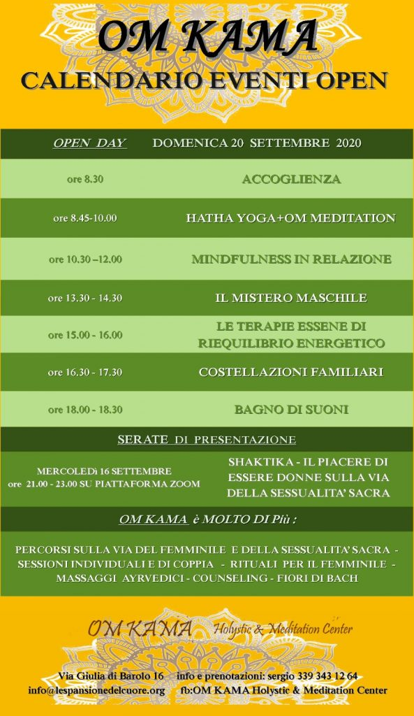 open day mindfulness torino
